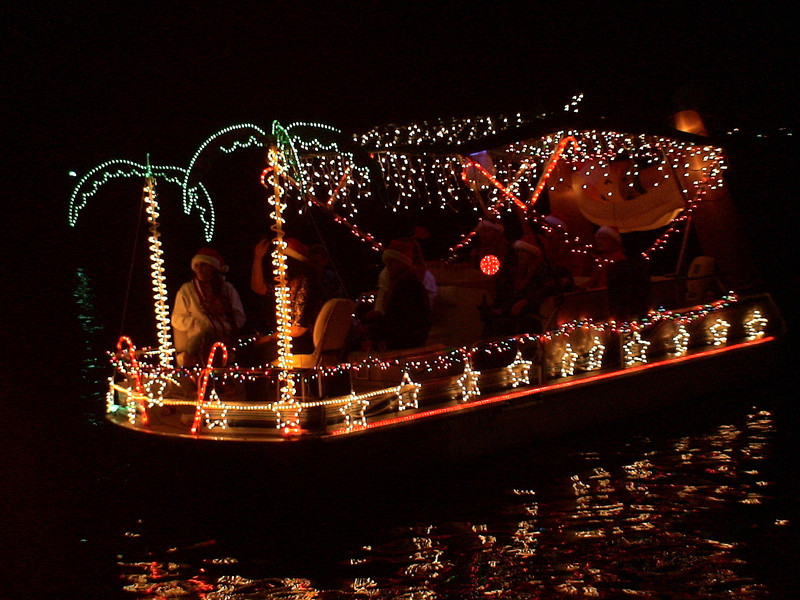 Lighted Christmas Boat Parade